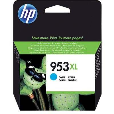 HP 953XL Origineel Inktcartridge F6U16AE Cyaan