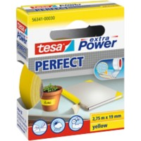 tesa extra Power Textieltape 56341 19 mm x 2,75 m Geel