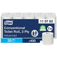 Tork Toiletpapier T4 Advanced 3-laags 30 Rollen à 250 Vellen