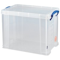 Really Useful Boxes Archiefboxen UB19LC Transparant Plastic 39,5 x 25,5 x 29 cm