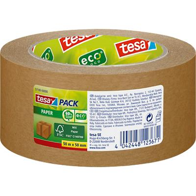 tesapack Ecotape Eco & Strong 50 mm x 50 m Bruin
