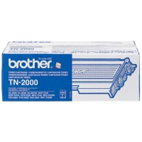 Brother TN-2000 Origineel Tonercartridge Zwart