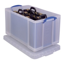 Really Useful Boxes Archiefboxen Transparant plastic 84 l