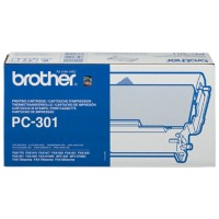 Brother PC301 Inkt Cartridge + Donorrol Zwart