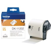 Brother Adresetiketten DK-11202 62 x 100 mm Wit 300 Etiketten