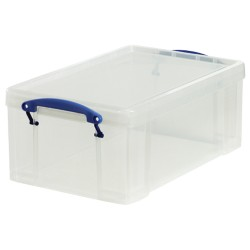 Really Useful Boxes Archiefboxen 5060024801736 A4 Transparant plastic 9 l