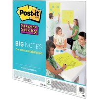 Post-it Big notes Super Sticky Speciaal Blanco 95 g/m² Neon groen 55,8 x 55,8 cm