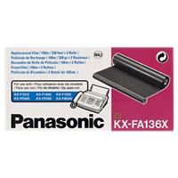 Panasonic Original KXFA136X Zwart Lintcartridge
