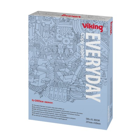 Viking Everyday Papier A3 80 g/m² Wit 500 vel