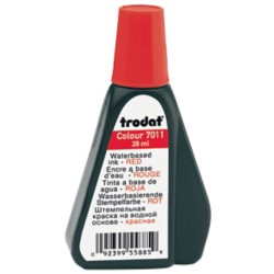 Trodat 7011 Inktflacon Rood 40 mm