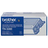 Brother TN-3280 Origineel Tonercartridge Zwart