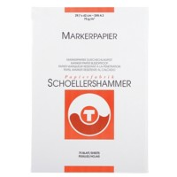 SCHOELLERSHAMMER Layout 14737 Markerblok A3 75 g/m² 297 x 420 mm Wit