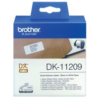 Brother Adresetiketten DK-11209 29 x 62 mm Wit 800 Etiketten