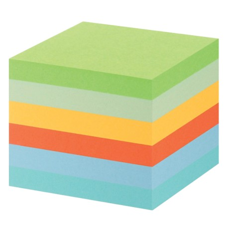 Post-it 6541GB Recycled notes Kleurenassortiment Blanco 76 x 76 mm 76 x 76 mm 80 g/m² 6 stuks à 100 vellen