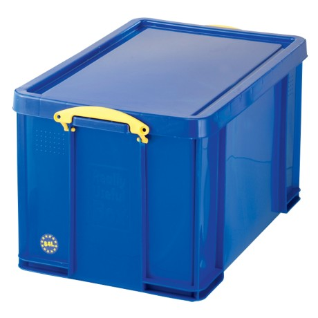 Really Useful Boxes Transportbakken polypropyleen 44 x 71 x 38 cm Blauw
