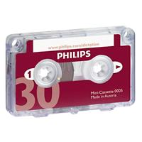 Philips Mini Cassette LFH0005 Rood