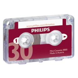Philips Mini cassette 30 minuten