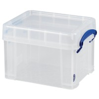Really Useful Box Archiefboxen 3 L Transparant Plastic 24,5 x 18 x 16 cm