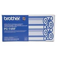 Brother PC74RF Original Zwart Lintpatroon PC-74RF