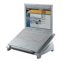 Fellowes Laptop standaard Office suite Zwart, zilver