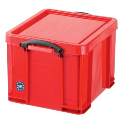 Really Useful Boxes Transportbakken Polypropyleen 48 x 39 x 31 cm Rood