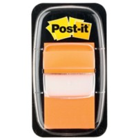 Post-it 680-4 Indexen Oranje Blanco Niet geperforeerd 25,4 x 43,2 mm 70 g/m² 50 Strips