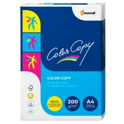 Mondi Color Copy Papier A4 200 g/m² Wit 250 vel