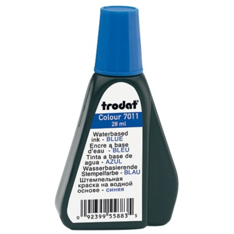 Trodat 7011 Inktflacon Blauw 40 mm