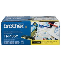 Brother TN-135Y Origineel Tonercartridge Geel
