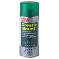 3M Lijmspray Creativ Mount Grijs 400 ml