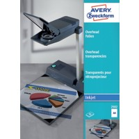 AVERY Zweckform Transparanten 2502 A4 Glashelder 21 x 29,7 cm Transparent 50 Vellen