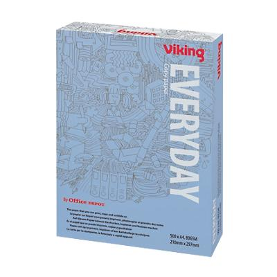 Viking Everyday print-/ kopieerpapier A4 80 gram Wit 500 vellen