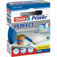 tesa extra Power Textieltape Perfect 19 mm x 2,75 m Blauw