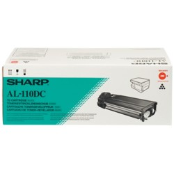 Sharp Al-110DC Original Tonercartridge Zwart