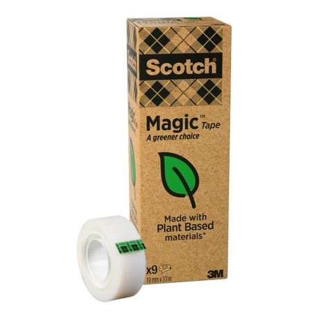 Scotch Plakband Magic™ A 19 mm x 33 m Transparant