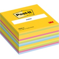 Post-it Kubusblok 76 x 76 mm Kleurenassortiment 450 Vellen