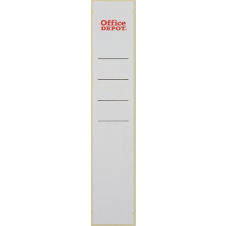 Office Depot Ordneretiketten 50 mm Wit 10 stuks