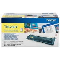 Brother TN-230Y Origineel Tonercartridge Geel Geel