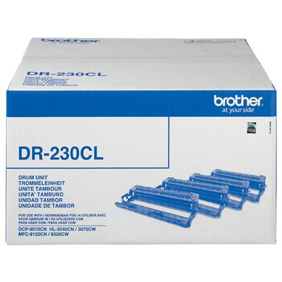 Brother Original DR-230CL Zwart & 3 Kleuren Drum Unit
