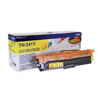 Brother TN-241Y Origineel Tonercartridge Geel Geel