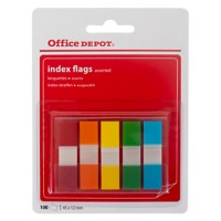 Office Depot Indexen 1,2 x 10,5 x 4,5 cm 100 Strips
