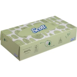 Scott Tissues Cosmetic tissues 2-laags 100 vellen