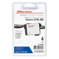 Office Depot Compatibel Epson 27XL Inktcartridge T271140 Zwart
