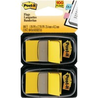 Post-it Dual Pack Indexen Geel 2 Stuks à 50 Strips