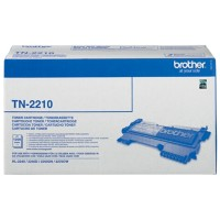 Brother TN-2210 Origineel Tonercartridge Zwart