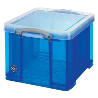 Really Useful Box Archiefboxen 35TBCB Blauw Plastic 48 x 39 x 31 cm