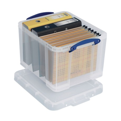 Really Useful Boxes Archiefdoos A4 Transparant kunststof 35 l