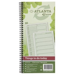 Jalema Things to do today Groen nee Speciaal 14 x 29,7 cm 70 g/m² 80 vellen