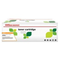 Office Depot Compatibel Brother TN-2110 Tonercartridge Zwart