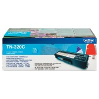 Brother TN-320C Origineel Tonercartridge Cyaan Cyaan